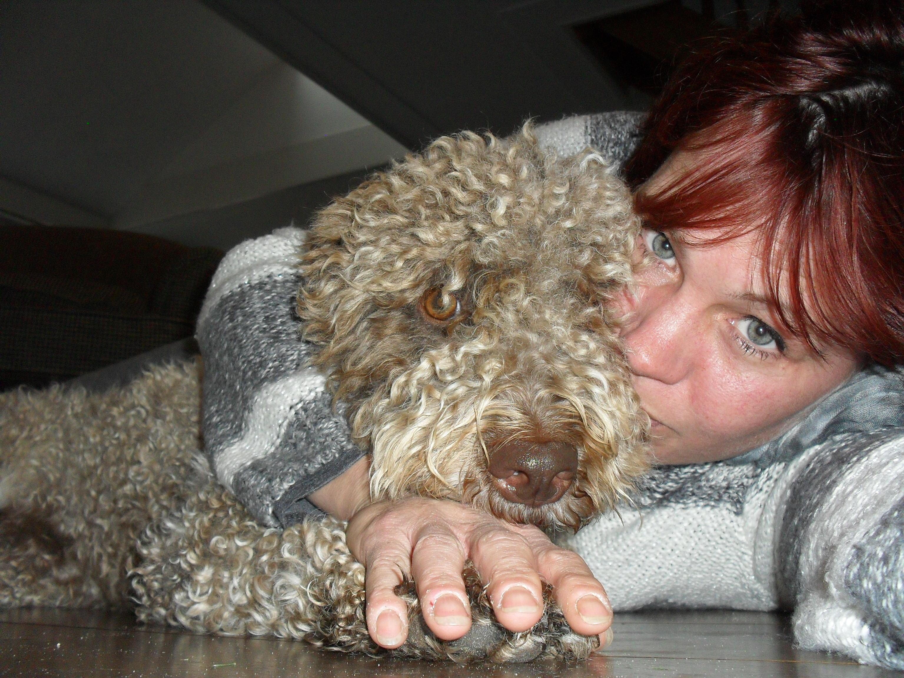 Zita mijn jongste hond en ik
